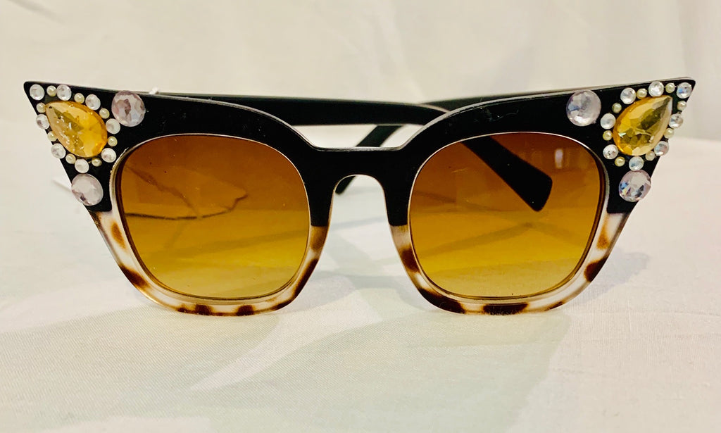 Designer sunglasses - Sylvie diamante
