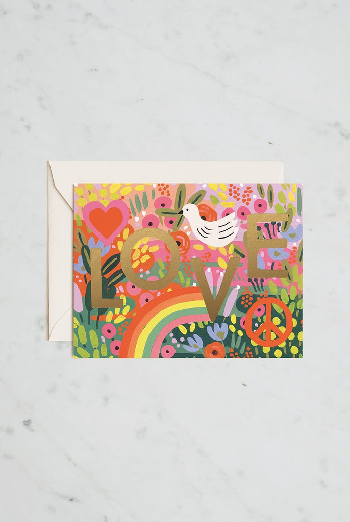 Rifle Paper Co - Single Card - All you need is love