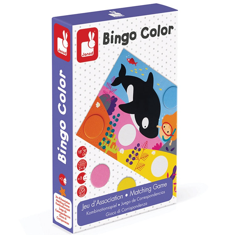 Bingo Colour Game