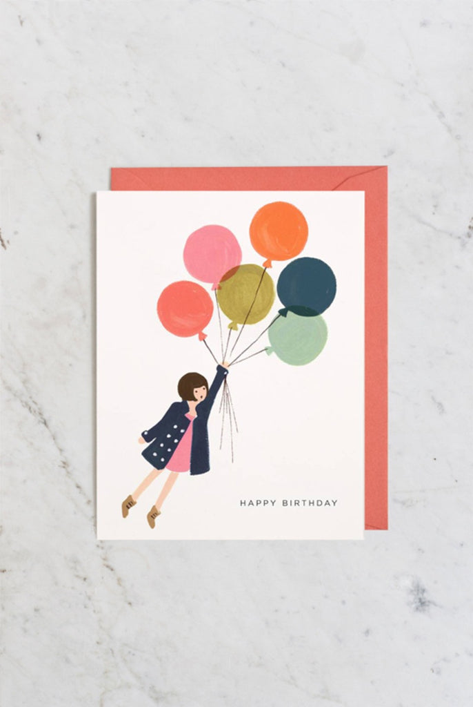Rifle Paper Co - Single Card - Fly away Birthday