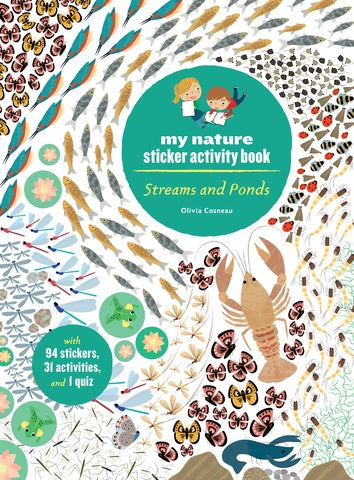 My Nature Sticker Activity Book - Streams and Ponds