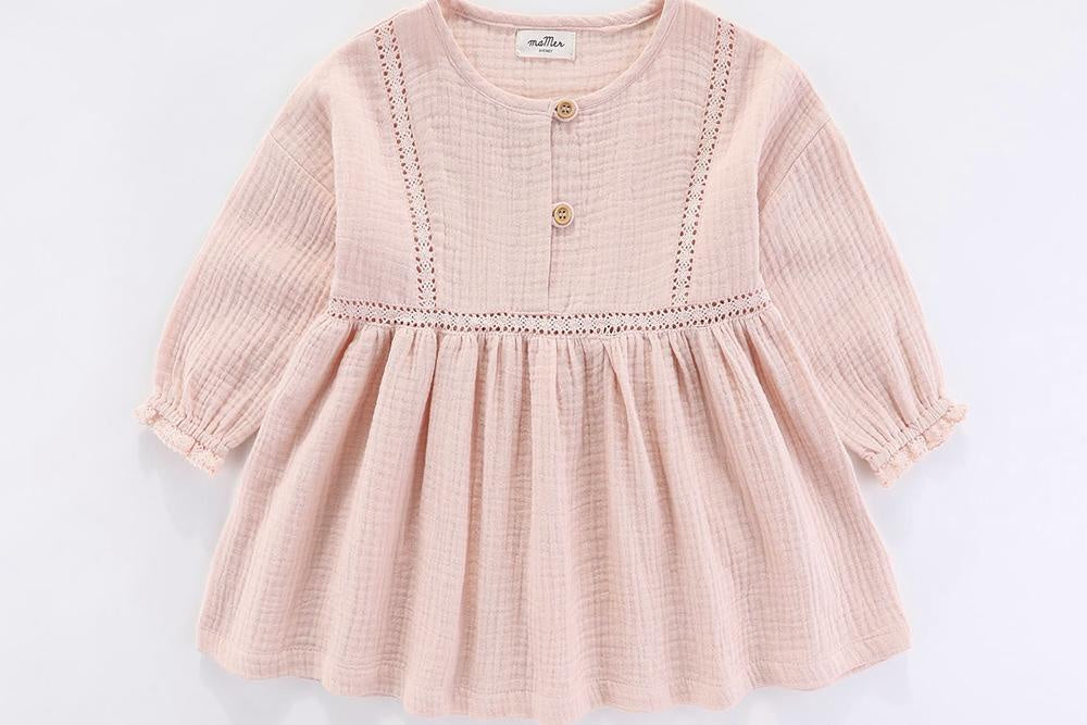 Roma dress (dusty pink)
