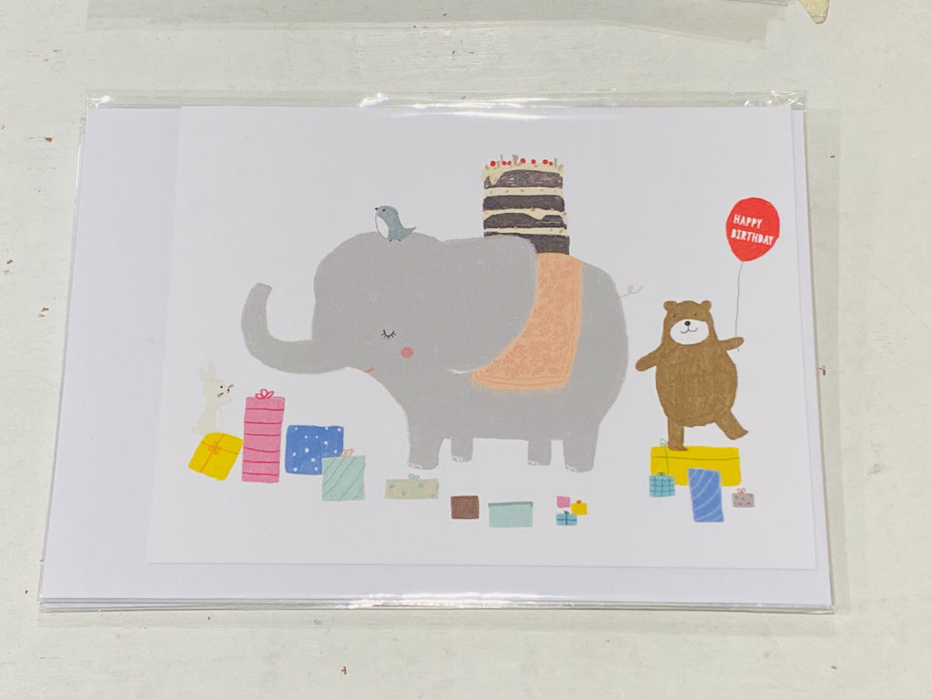 Animals Birthday Party card