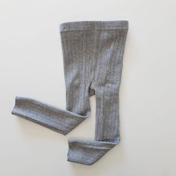 Lucy cotton leggings - Grey
