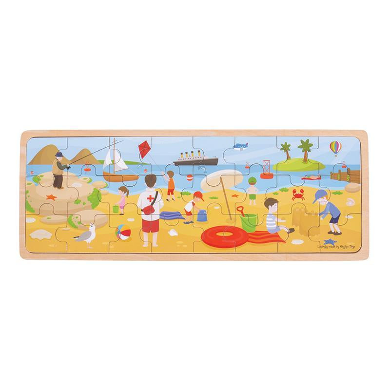 At the seaside puzzle