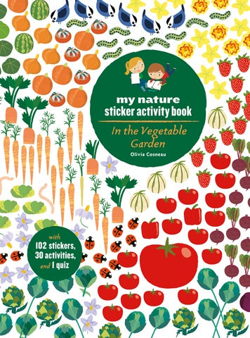 My Nature Sticker Activity Book - In the Vegetable Garden