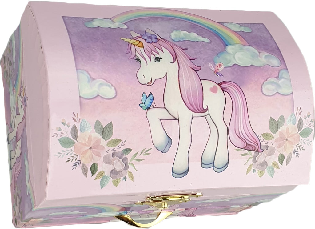 Musical Jewellery Box (Unicorn Rainbow)