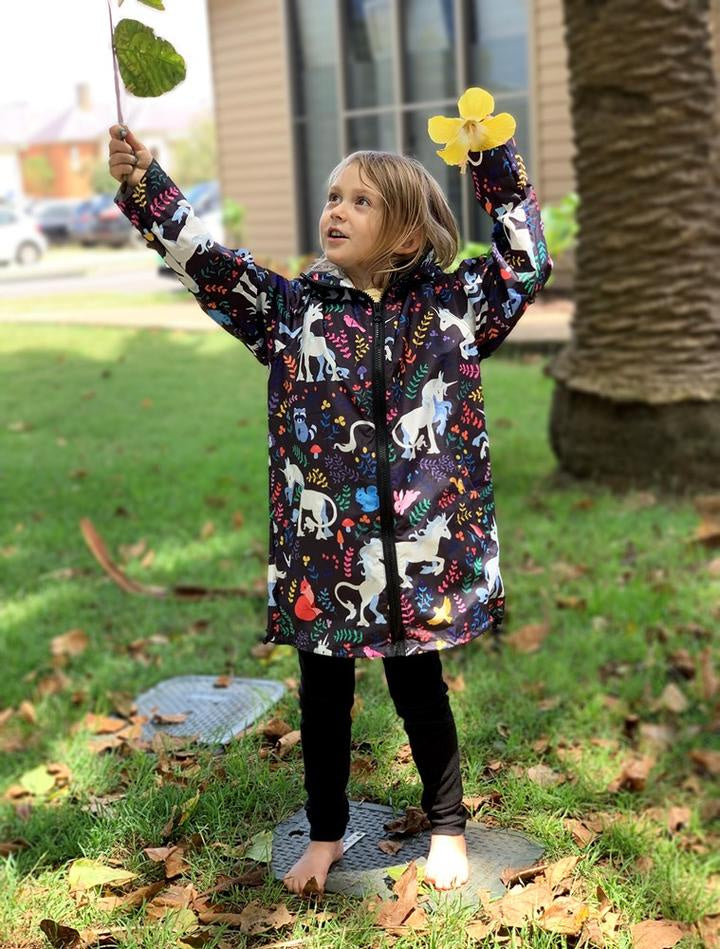 Unicorn Kids Raincoat