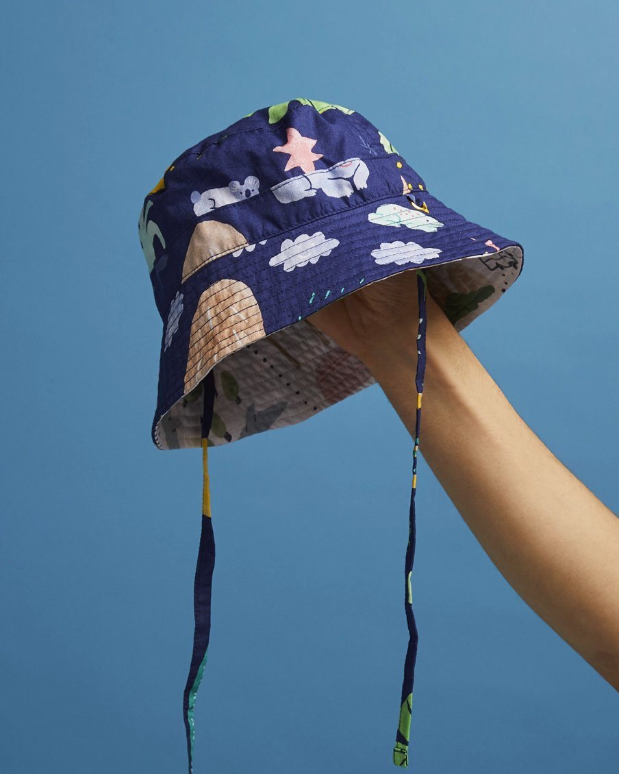 Beach Forest Sun Days Hat