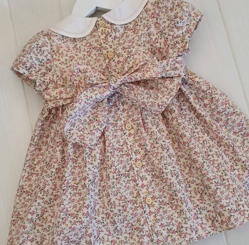 Grace - handmade smocked dress