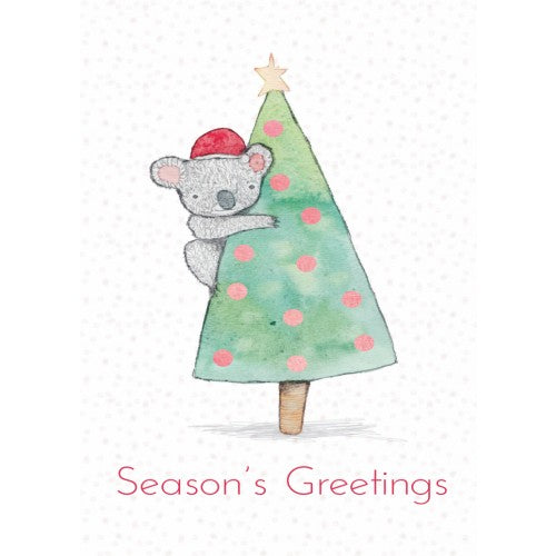Koala Christmas Season's Greetings