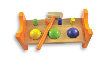 Peg 'n Ball Bench
