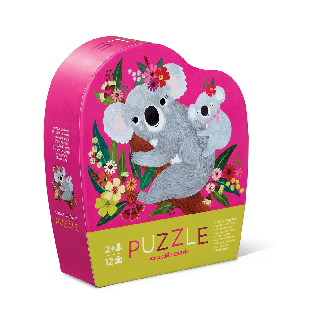 Mini Puzzle - Koala Cuddle (12pcs)