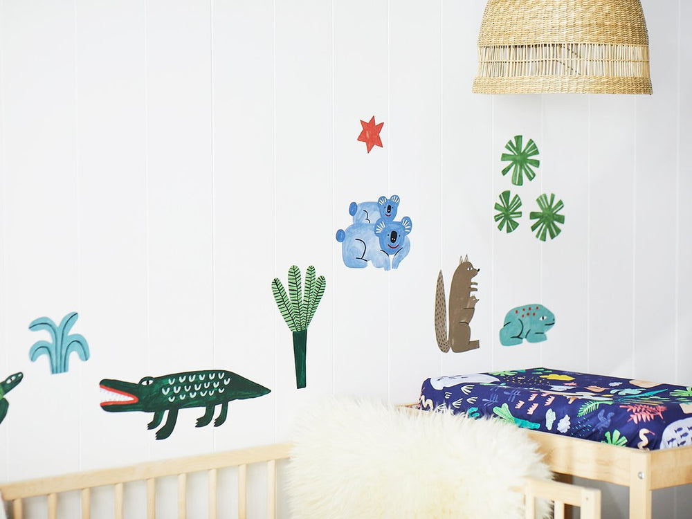 Beach Forest decals