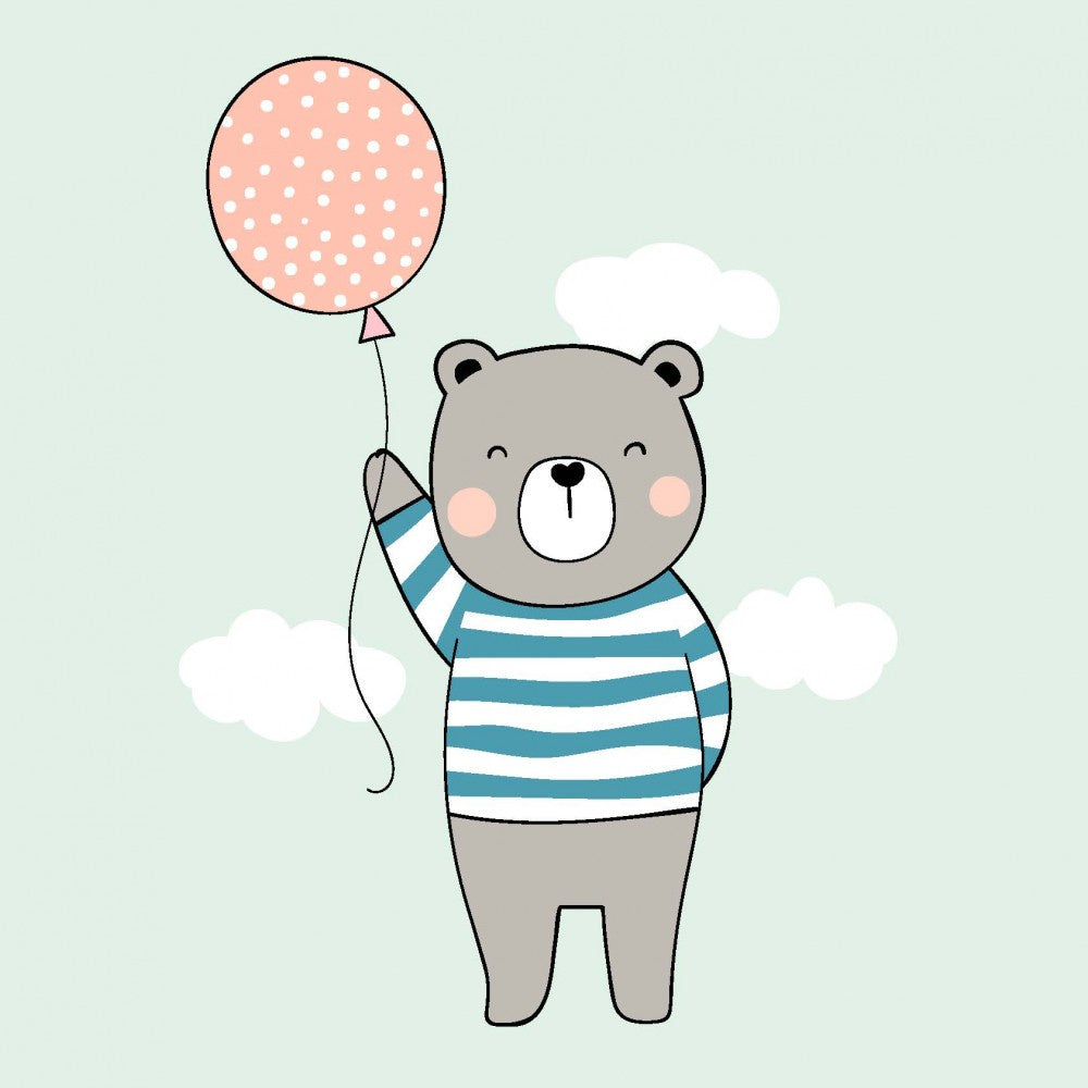 Bear Balloon Card