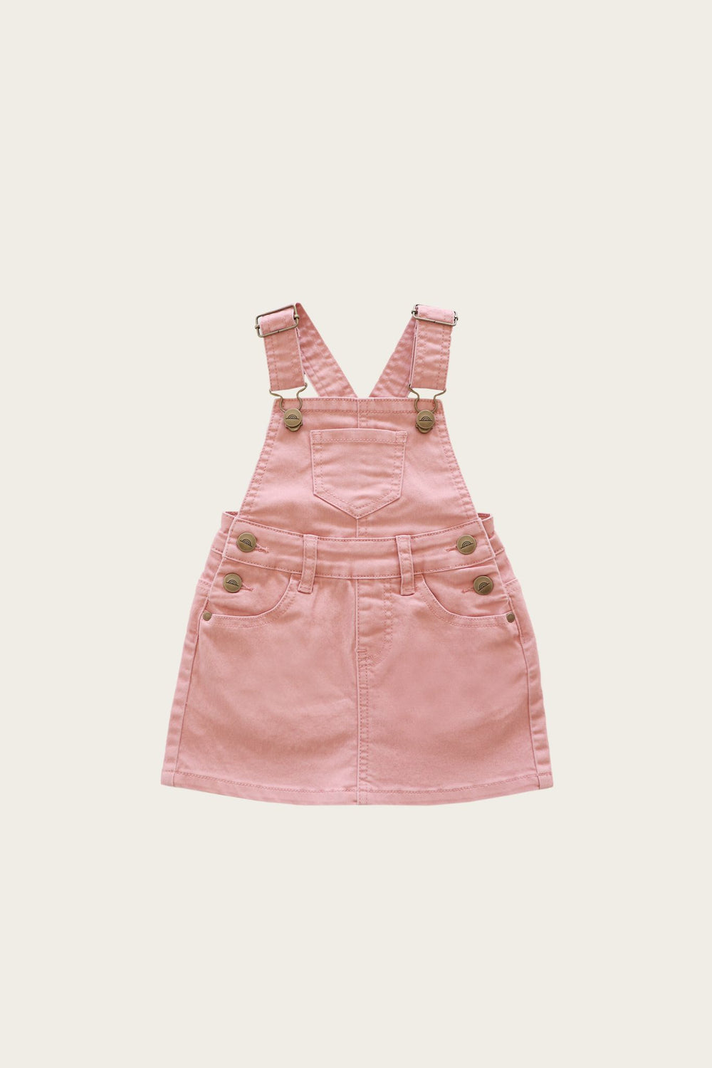 Chloe overall denim dress - Rose