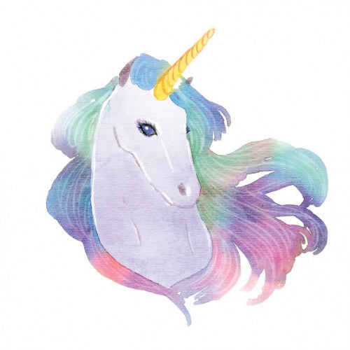 Unicorn Mane Watercolour