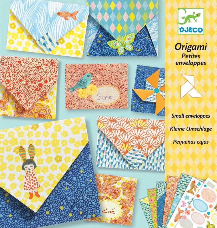 Origami Kit - Little Envelopes