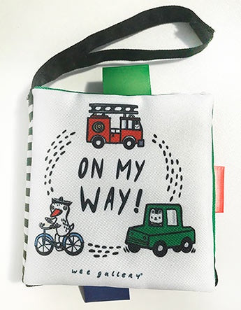 Wee Gallery Buggy Books: On My Way