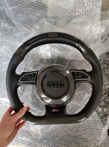 A3/S3/RS3 PFL Carbon LED steering wheel - VHW-Import