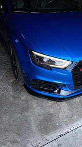 Carbon Rs3 Sportback/Sedan Canards - VHW-Import