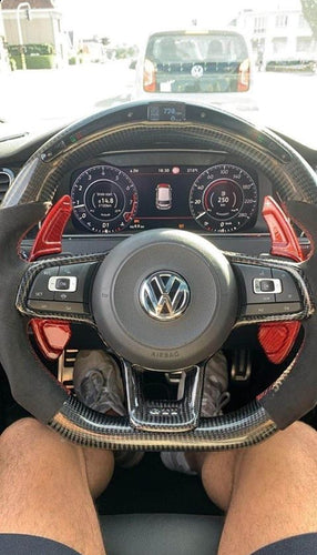Mk7/7.5 Golf Carbon LED Steering Wheels - VHW-Import
