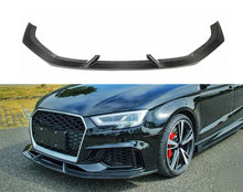 Load image into Gallery viewer, Carbon Rs3 Sedan Front Splitter - VHW-Import