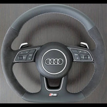 Load image into Gallery viewer, Audi Rs3/Rs5/TTRS/R8 Carbon Extended Paddle Shifters - VHW-Import