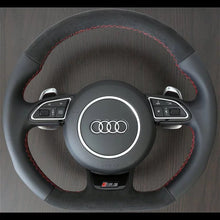 Load image into Gallery viewer, Audi Rs3/Rs6/s3.. Pre facelift Carbon Extended Paddle Shifters - VHW-Import