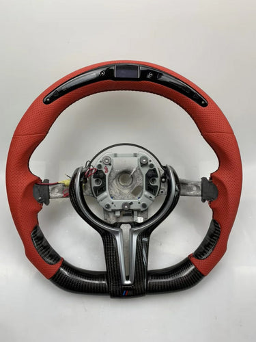 M Models 1-2-3-4 Carbon LED Steering Wheels - VHW-Import