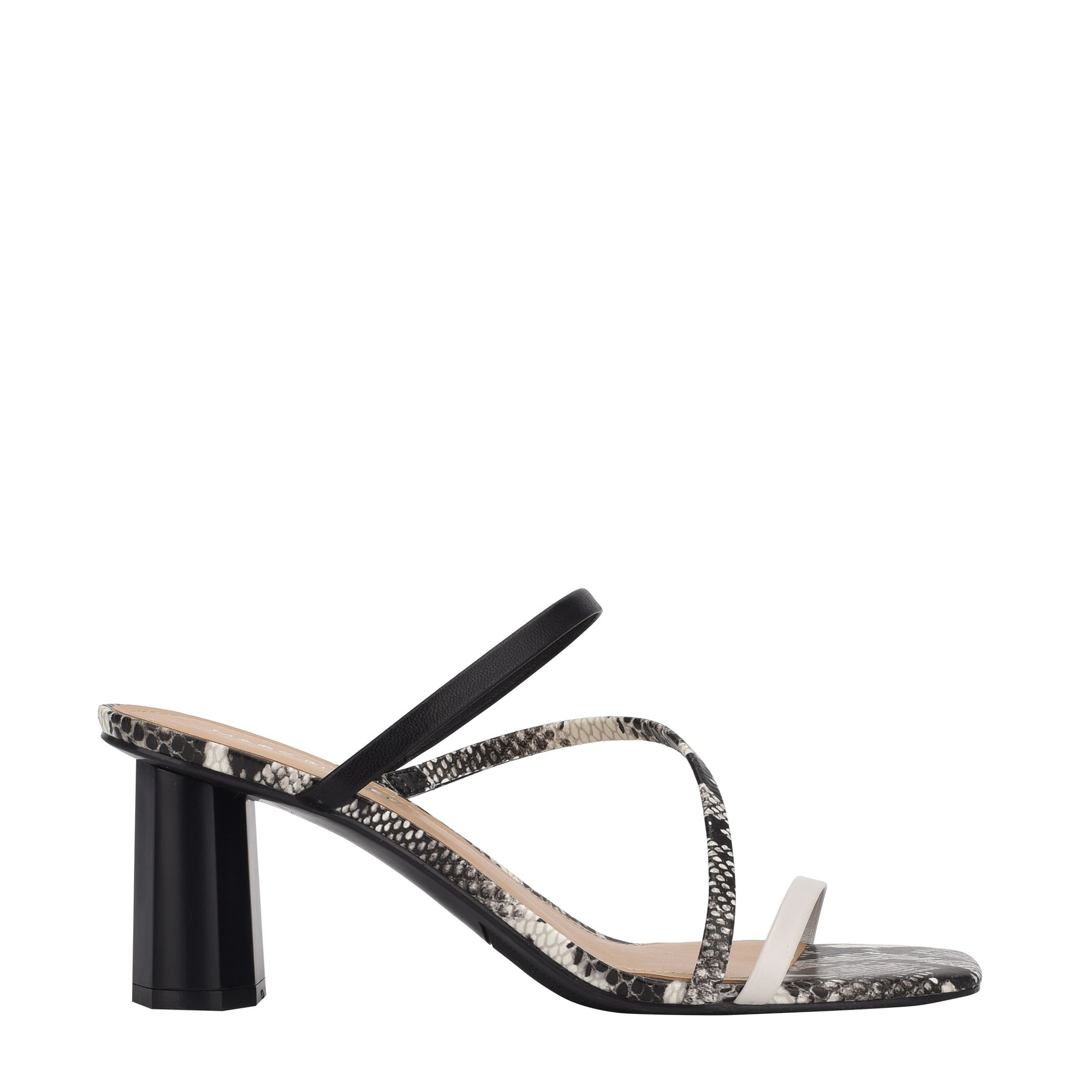 Aliana Heeled Strappy Slide