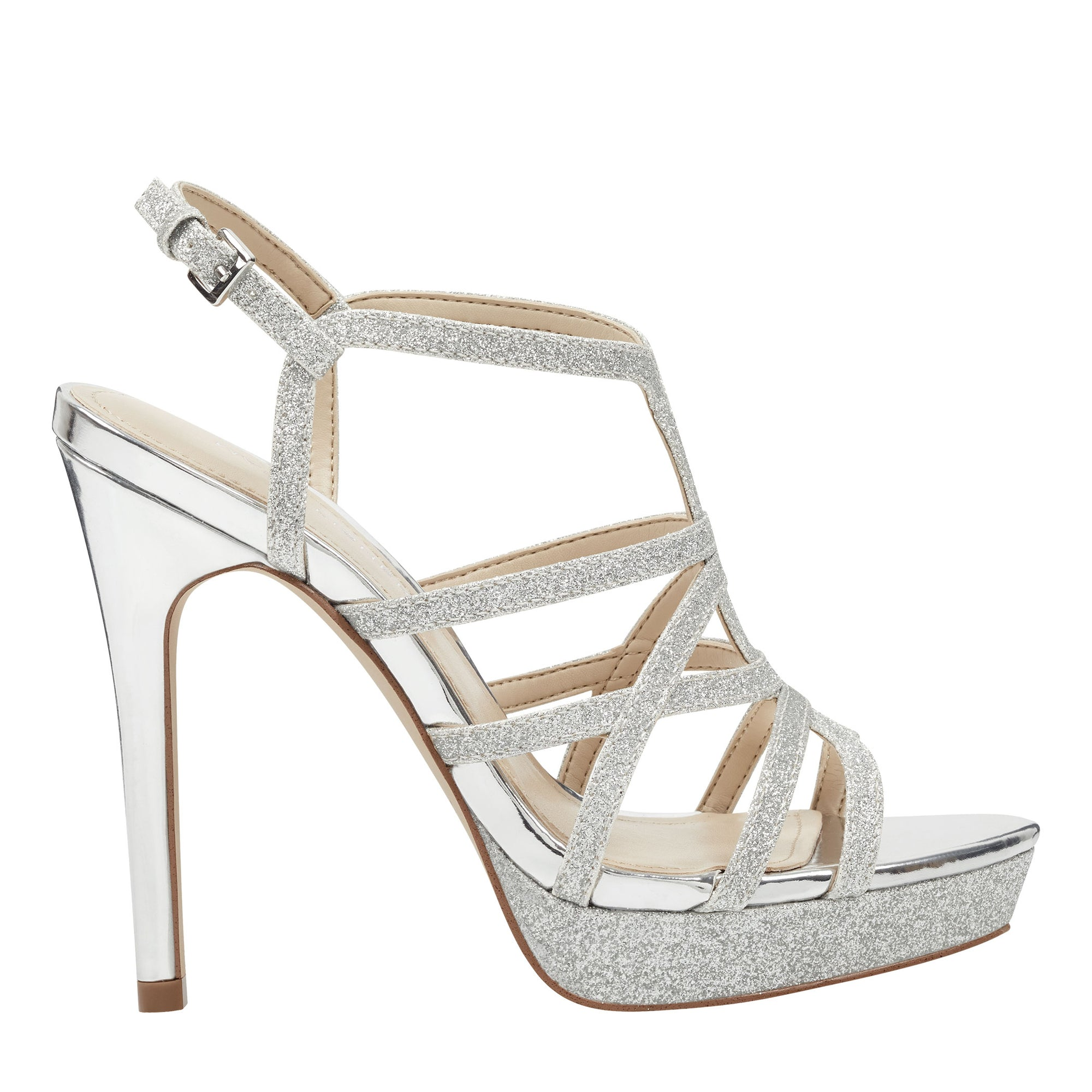 Jaslyn Strappy Heeled Pump