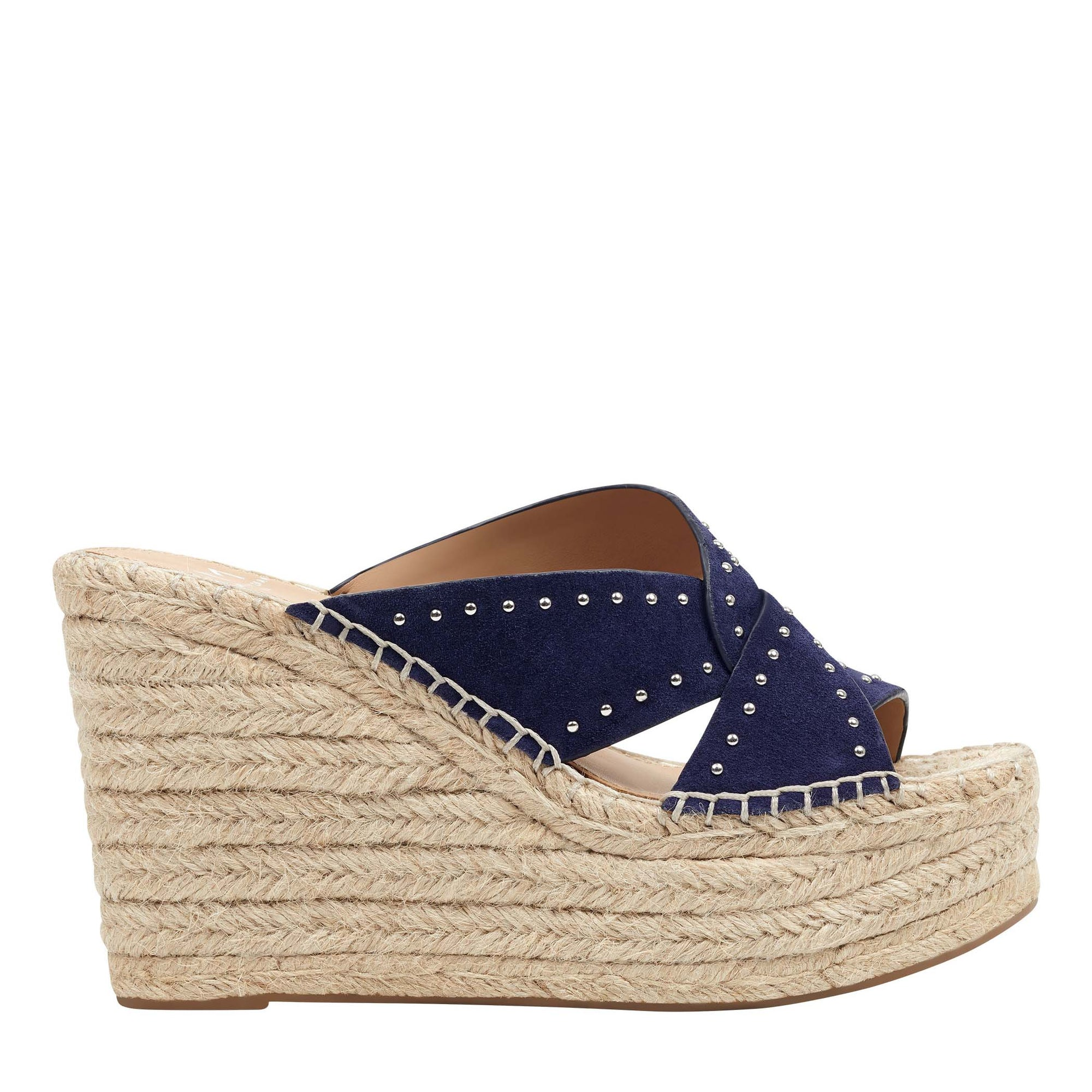 Angelina Slip On Espadrille Wedge