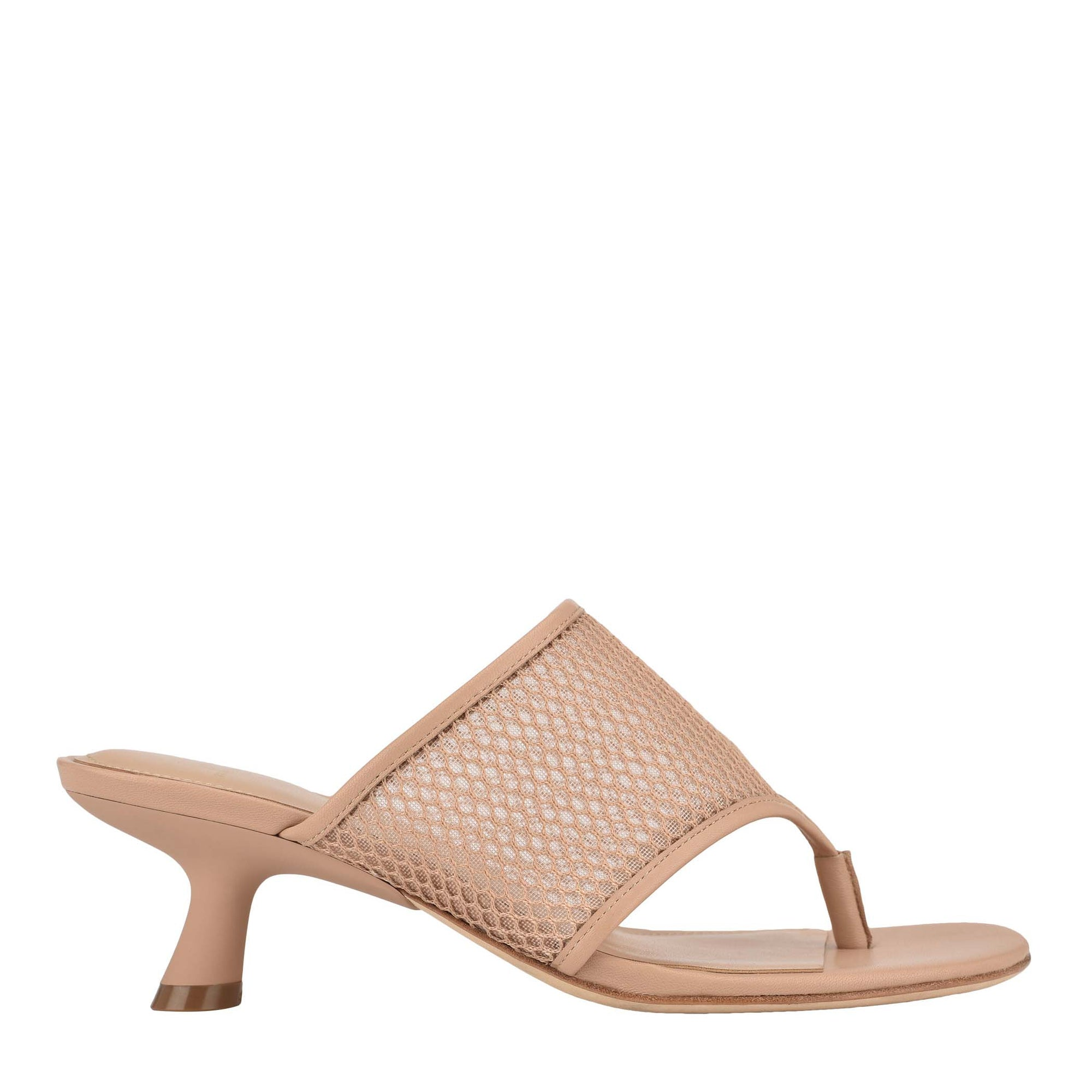 Dallas Heeled Slide Sandal