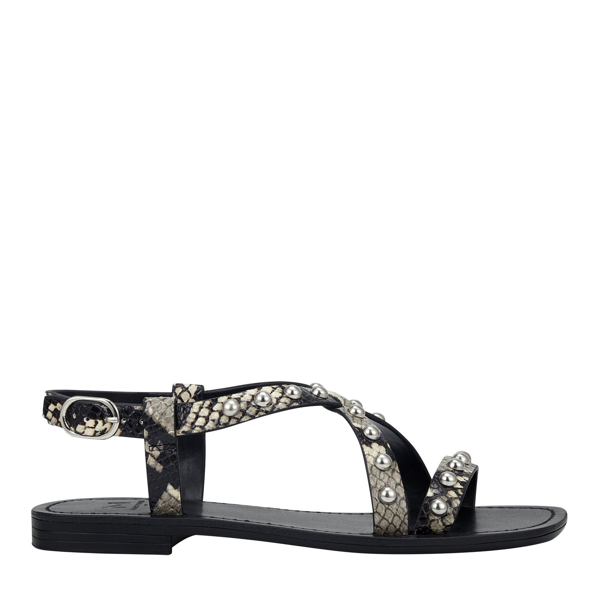 fianna-studded-flat-sandal-in-snake-printed-leather