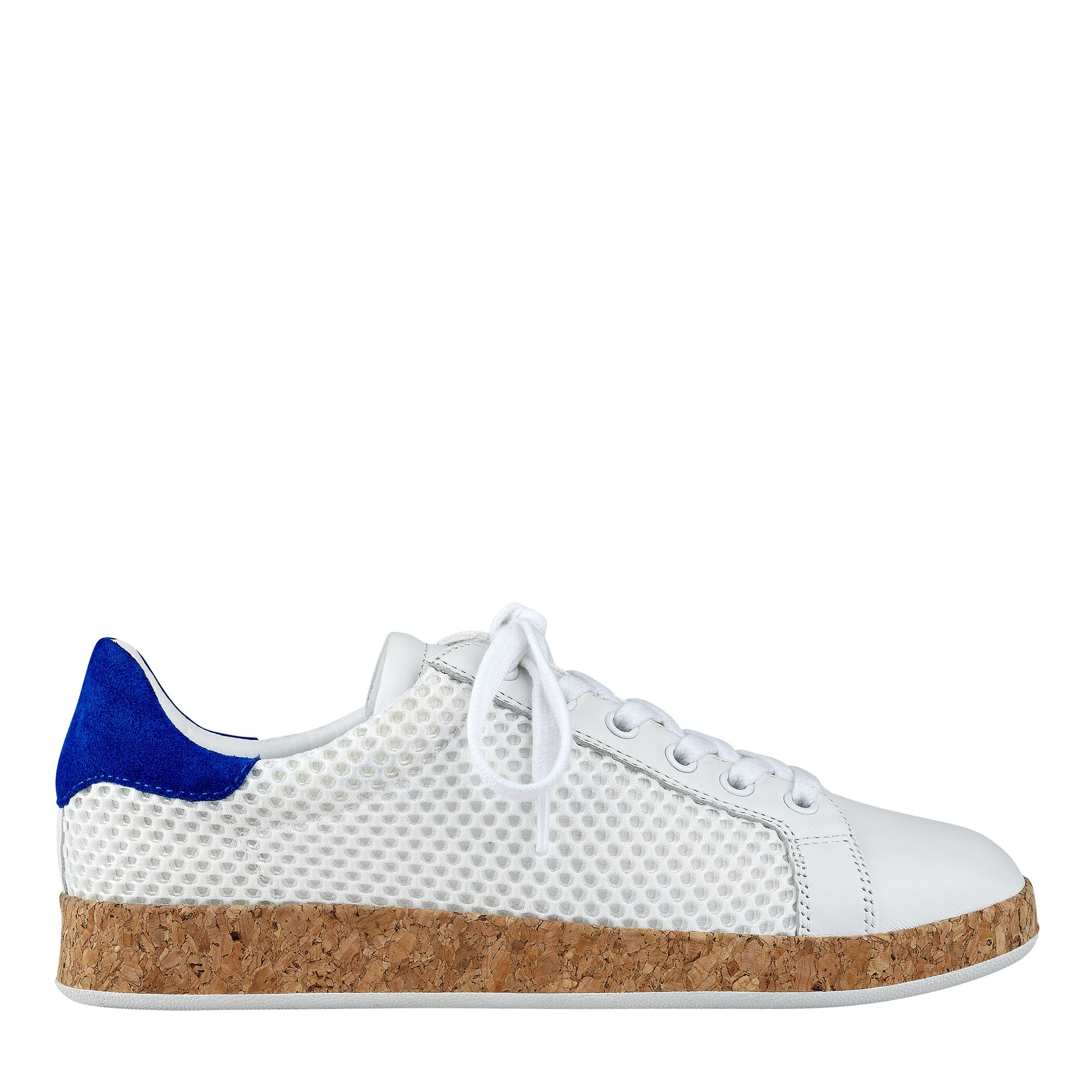 Renae Sneaker With Cork Midsole