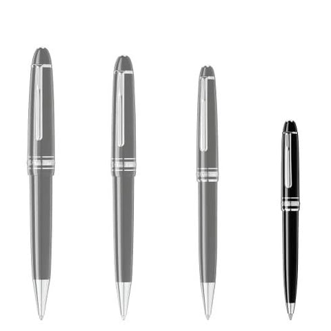 Confronto dimensione penne Montblanc Meisterstuck