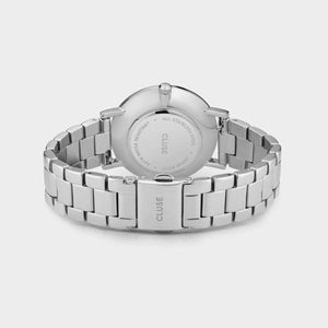Cluse Orologio Donna Le Couronnement 3-Link Silver Winter white/Silver