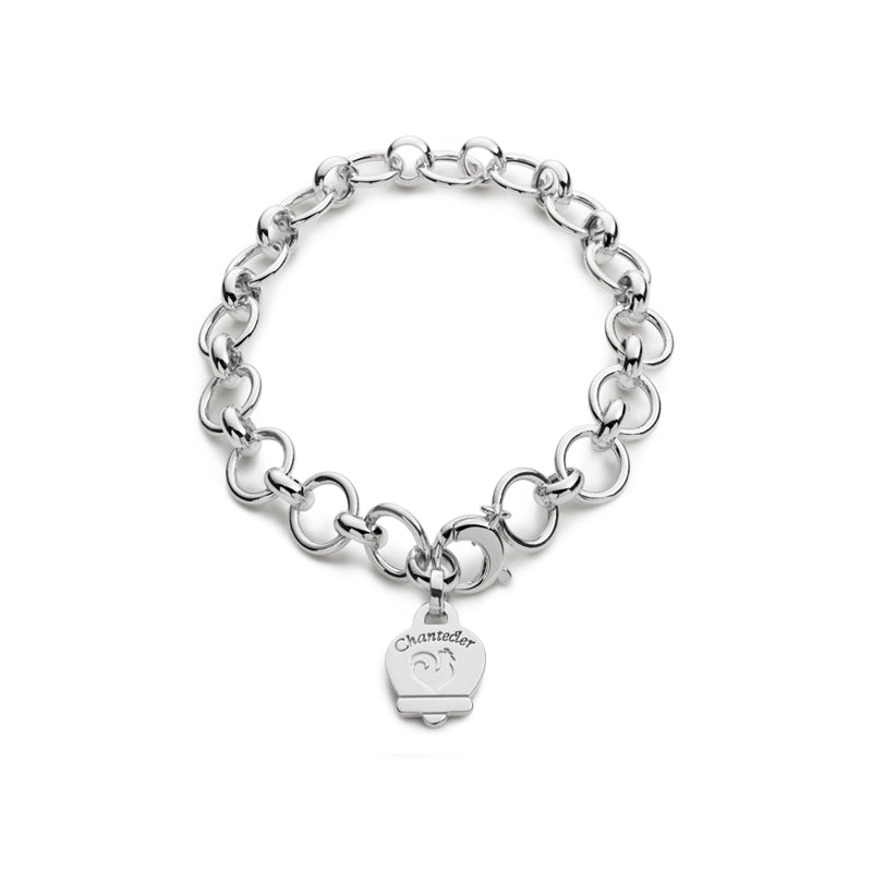 Chantecler Accessori Bracciale Multicharms In Argento