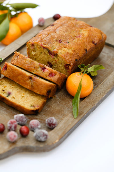 Gluten Free Cranberry Orange Zucchini Bread