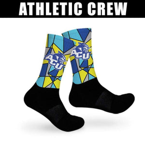 Design Your Own Athletic Crew Socks