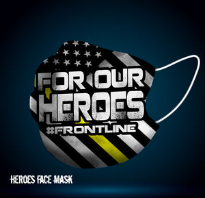 *HEROES* Covid-19 Face Mask