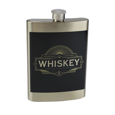 8oz Stainless Flask