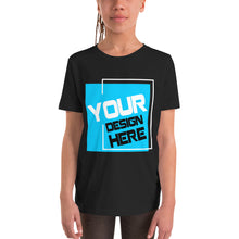 Load image into Gallery viewer, Customizable Youth Short Sleeve T-Shirt