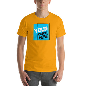 Customizable Large Front Print Unisex T-Shirt