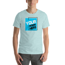 Load image into Gallery viewer, Customizable Large Front Print Unisex T-Shirt