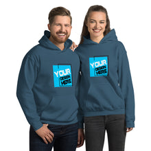 Load image into Gallery viewer, Customizable Large Front Print Hoodie