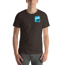 Load image into Gallery viewer, Customizable R. Chest Front & Large Rear Print Unisex T-Shirt