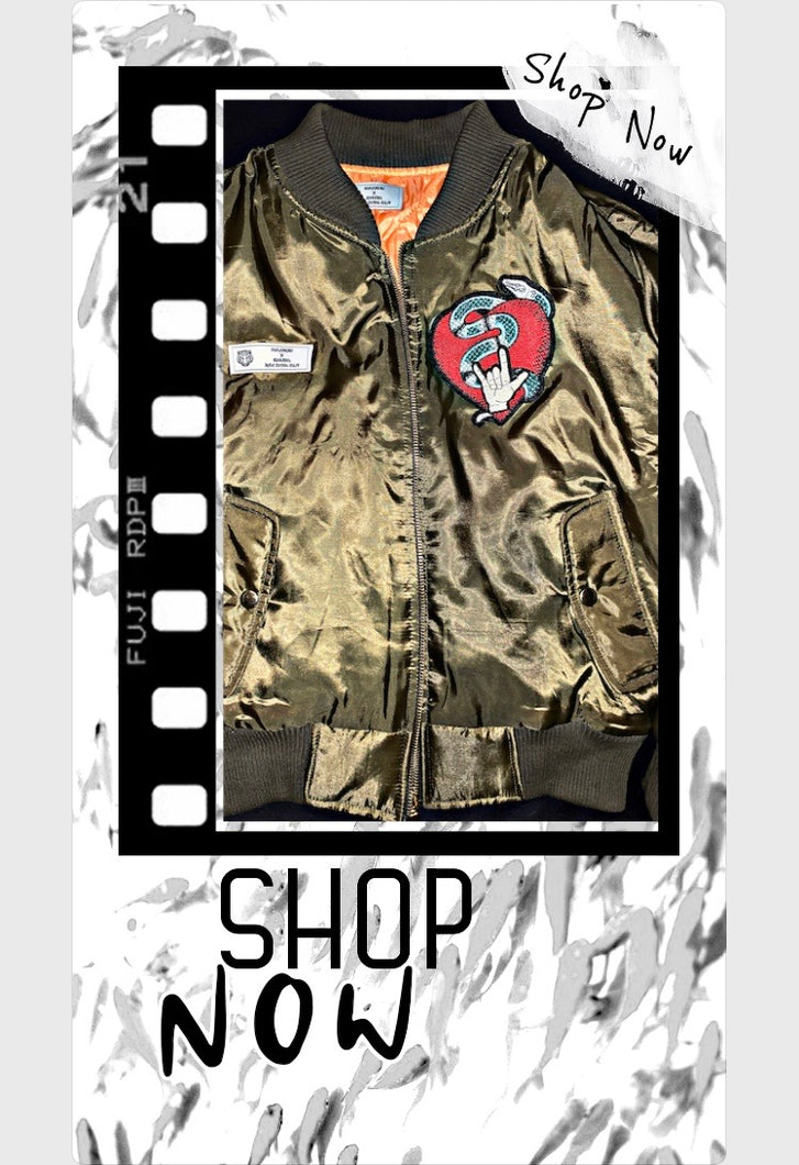 """Members Only"" Jessie Bomber Jacket"