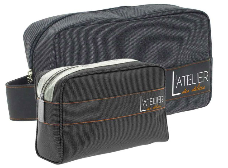 Black toiletry bag (big size)